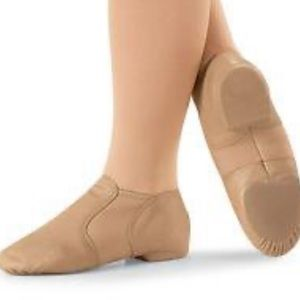 Capezio E-series leather jazz shoes 11.5 toddler